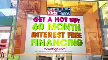 Rooms to Go Kids TV Spot, 'Hot Buy: Sofia Vergara Kids Bedroom' - Thumbnail 4