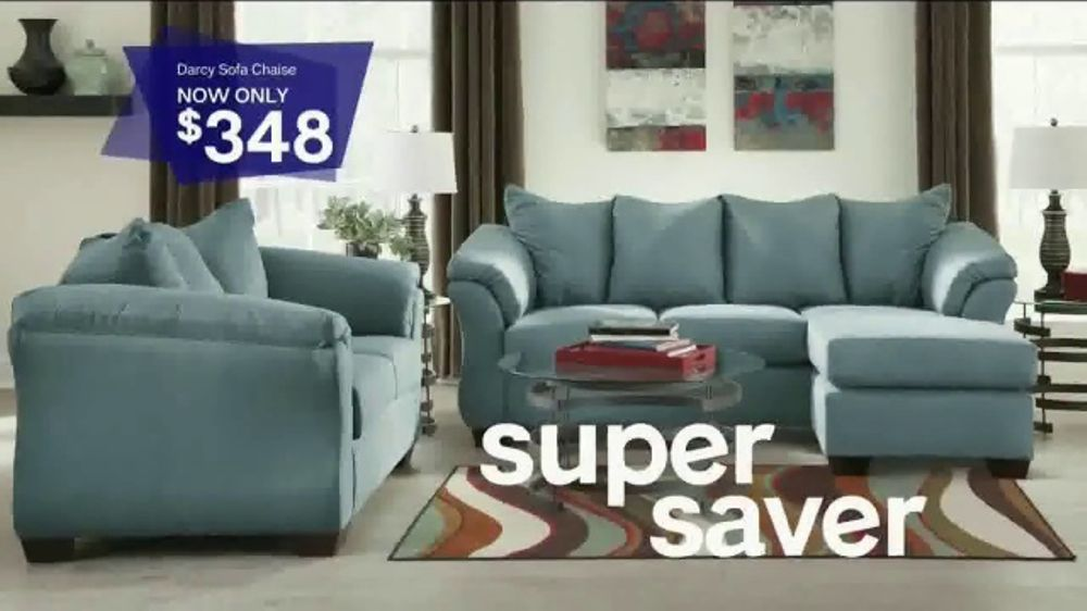 Ashley Homestore Stars Stripes Event Tv Commercial Sofas And