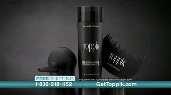 Toppik TV Spot, 'Full Hair Instantly: Women' - Thumbnail 9