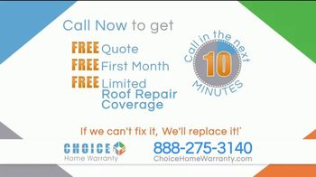 Choice Home Warranty TV Spot, 'Start Protecting Yourself' - Thumbnail 10