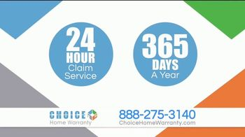 Choice Home Warranty TV Spot, 'Start Protecting Yourself' - Thumbnail 5