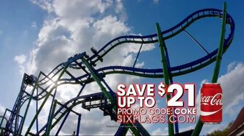 Six Flags Over Texas TV Spot, 'Save With a Coke' - Thumbnail 7