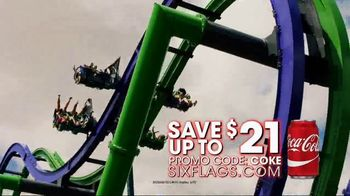 Six Flags Over Texas TV Spot, 'Save With a Coke' - Thumbnail 8