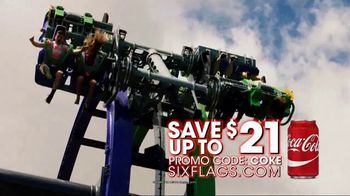 Six Flags Over Texas TV Spot, 'Save With a Coke' - Thumbnail 9
