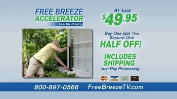 Free Breeze Accelerator TV Spot, 'The Power of the Wind' - Thumbnail 9