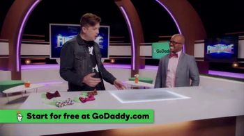 GoDaddy GoCentral Online Store TV Spot, 'ABC: Easier Than Tying a Bow Tie' - Thumbnail 4