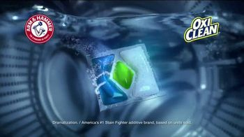Arm and Hammer Plus OxiClean TV Spot, 'Life's Cycles' - Thumbnail 8