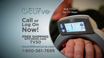 Willow Curve TV Spot, 'Relieve Pain and Stiffness' - Thumbnail 9