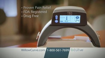 Willow Curve TV Spot, 'Relieve Pain and Stiffness' - Thumbnail 1