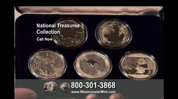 Westminster Mint National Treasures Collection TV Spot, 'Silver'