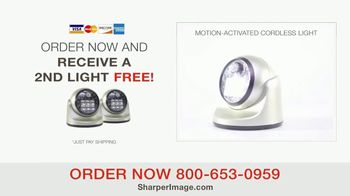 Sharper Image Motion-Activated Cordless Light TV Spot, 'Peace of Mind' - Thumbnail 8