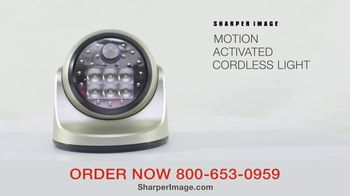Sharper Image Motion-Activated Cordless Light TV Spot, 'Peace of Mind' - Thumbnail 3