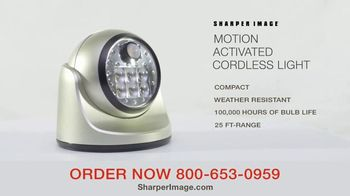 Sharper Image Motion-Activated Cordless Light TV Spot, 'Peace of Mind' - Thumbnail 4