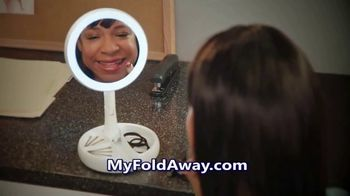 My Foldaway Mirror TV Spot, 'Easy to See' - Thumbnail 2