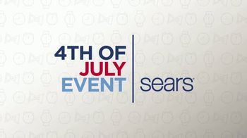 Sears 4th of July Event TV Spot, 'Time for Savings' - Thumbnail 1