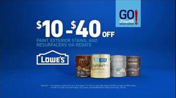 Lowe's Go Fourth Holiday Savings TV Spot, 'The Moment: Blues' - Thumbnail 5