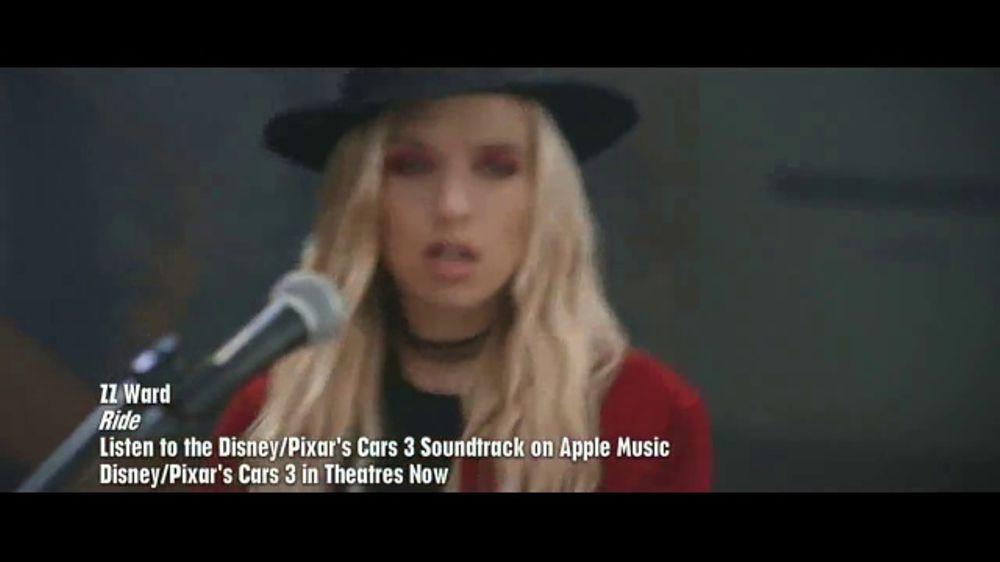 various artists disney pixar s cars 3 soundtrack tv spot ispot tv