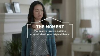 Lowe's Go Fourth Holiday Savings Event TV Spot, 'Original Floors'