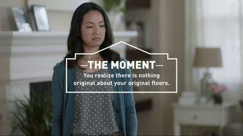 Lowe's Go Fourth Holiday Savings Event TV Spot, 'Original Floors'