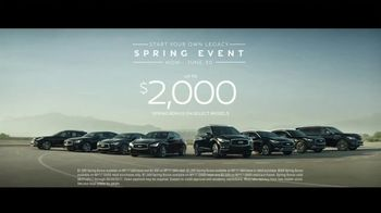 Infiniti Start Your Own Legacy Spring Event TV Spot, '2017 Q50s' [T2] - Thumbnail 7