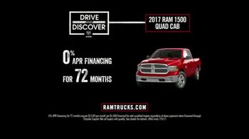 Ram Trucks Drive and Discover Event TV Spot, 'Feel at Home' [T2] - Thumbnail 10