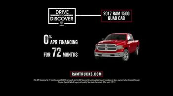 Ram Trucks Drive and Discover Event TV Spot, 'Feel at Home' [T2] - Thumbnail 9