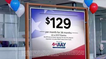 Hyundai 4th of July Sales Event TV Spot, 'Prepping' [T2] - Thumbnail 3