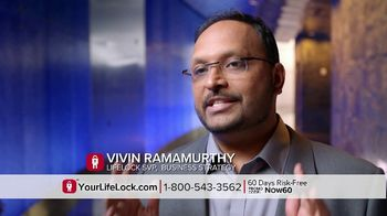 LifeLock TV Spot, 'Faces V3' - Thumbnail 3