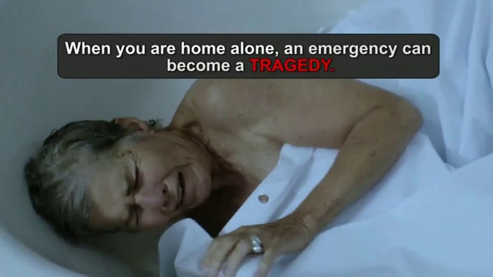 Life Alert TV Commercial, 'Help Is on the Way'
