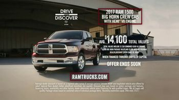 Ram Trucks Drive and Discover Event TV Spot, 'Airplane Rescue: Of the Past' [T2] - Thumbnail 7