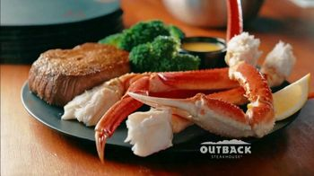 Outback Steakhouse Steak & Crab TV Spot, \'Full Aussie\'