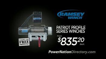 PowerNation Directory TV Spot, 'Harness Kit, Winches, Driveshafts & Wheels'