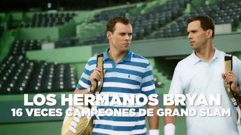 IZOD Advantage Polo TV Spot, 'Futuro' con Bob Bryan, Mike Bryan [Spanish] - 71 commercial airings