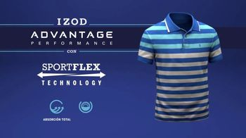 IZOD Advantage Polo TV Spot, 'Futuro' con Bob Bryan, Mike Bryan [Spanish] - Thumbnail 9