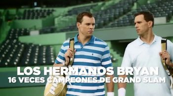 Izod Advantage Polo TV Spot, 'Futuro' con Bob Bryan, Mike Bryan [Spanish]