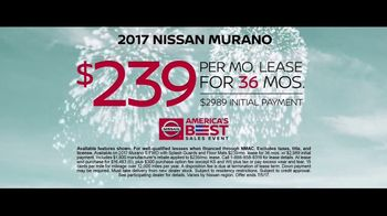Nissan America's Best Sales Event TV Spot, '2017 Rogue & Murano' [T2] - Thumbnail 7
