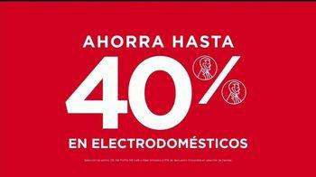 JCPenney Venta del 4 de Julio TV Spot, 'Electrodomésticos' [Spanish] - Thumbnail 4