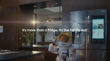 Samsung Family Hub Fridge TV Spot, 'Ticket to the Moon' - Thumbnail 9
