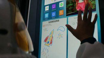 Samsung Family Hub Fridge TV Spot, 'Ticket to the Moon' - Thumbnail 4