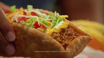 Taco Bell $5 Double Chalupa Box TV Spot, 'Aun mejor' [Spanish]