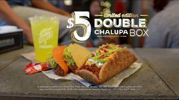 Taco Bell $5 Double Chalupa Box TV Spot, 'Even Better' - 9947 commercial airings