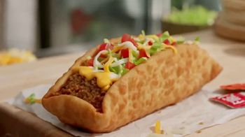 Taco Bell Double Chalupa TV Spot, 'Disfrútala' [Spanish] - 883 commercial airings