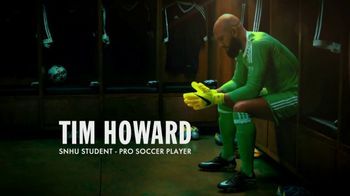 Southern New Hampshire University TV Spot, 'Taking Control' Ft. Tim Howard - 51 commercial airings
