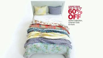 Macy's One Day Sale TV Spot, 'Cooking, Bedding and Luggage' - Thumbnail 5