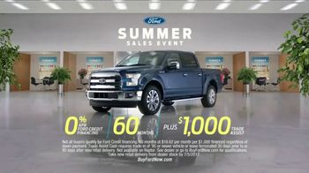 Ford Summer Sales Event TV Spot, 'Financing' Song by Owl City [T2] - Thumbnail 10