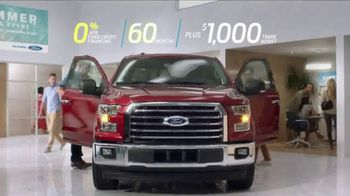 Ford Summer Sales Event TV Spot, 'Financing' Song by Owl City [T2] - Thumbnail 3