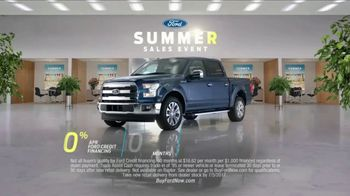 Ford Summer Sales Event TV Spot, 'Financing' Song by Owl City [T2] - Thumbnail 7