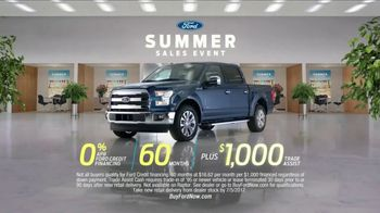 Ford Summer Sales Event TV Spot, 'Financing' Song by Owl City [T2] - Thumbnail 8