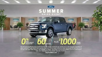 Ford Summer Sales Event TV Spot, 'Financing' Song by Owl City [T2] - Thumbnail 9