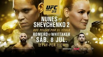 Pay-Per-View TV Spot, 'UFC 213: Nunes vs. Shevchenko 2' [Spanish] - 54 commercial airings